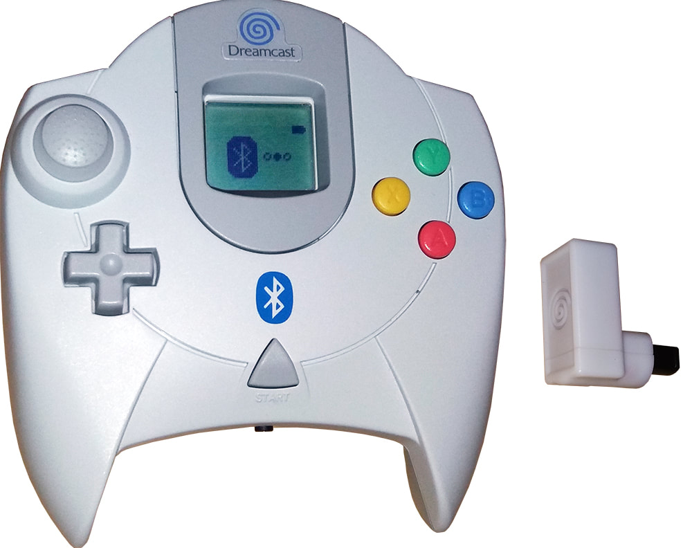 Dreamcast wireless controller